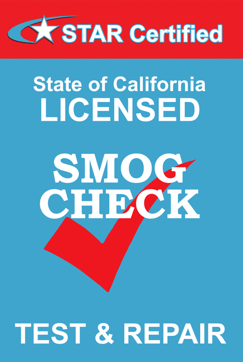 State of California Certified Smog Station